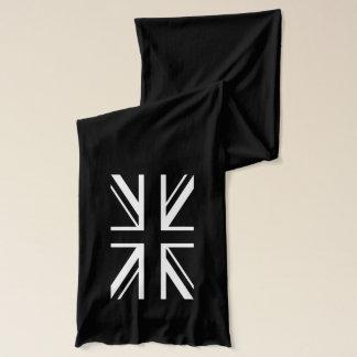Union Jack ~ Black and White Scarf