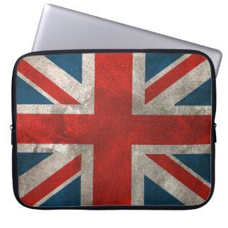 Union Jack britannique Housses Ordinateur Portable