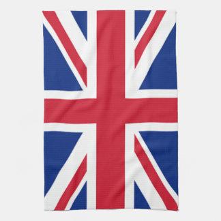 Union Jack British England Tea Kitchen Towel