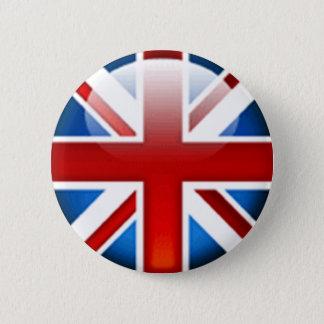 Union Jack British Flag Button Badge