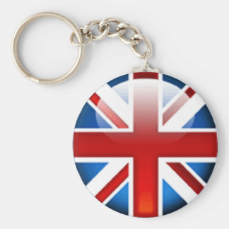 Union Jack British Flag Keychain