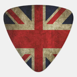 Union Jack British Flag Of England Rock and Roll Guitar Pick