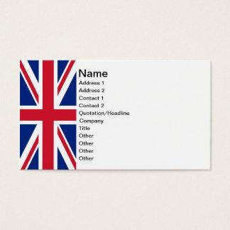 Union Jack Business Card