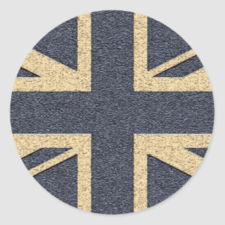 Union Jack Classic Round Sticker