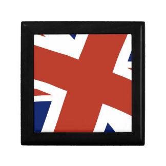 Union Jack Close Up Keepsake Box