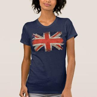 Union Jack déchiqueté âgé T Shirts