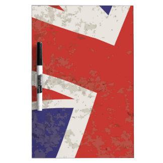 Union Jack Dry Erase Board
