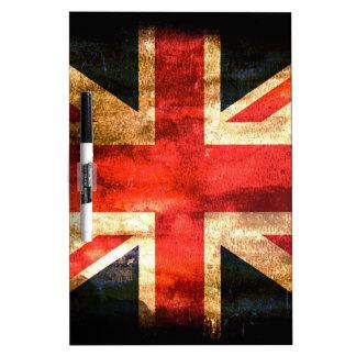 Union Jack Dry-Erase Whiteboard