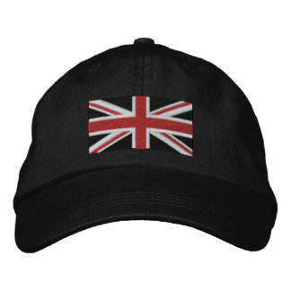 Union Jack Embroidered Hat