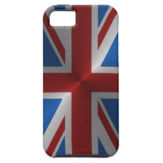 Union Jack en acier Coque iPhone 5 Case-Mate
