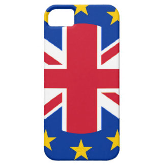 Union Jack - EU Flag iPhone 5 Cover