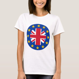 Union Jack - EU Flag T-Shirt