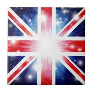 Union Jack flag background Tile