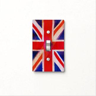 Union Jack, Flag, Blue, Nation Proud USA America Light Switch Cover