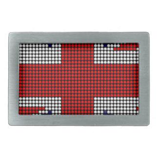 Union jack flag british flag belt buckle