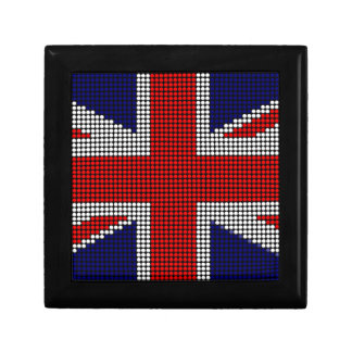 Union jack flag british flag gift box
