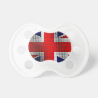 Union jack flag british flag pacifier