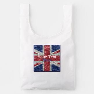 Union Jack Flag - Crinkled
