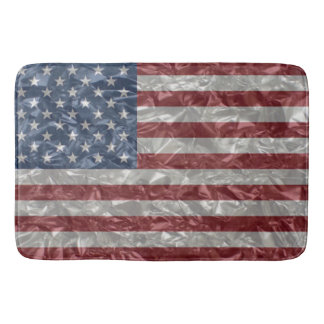 Union Jack Flag - Crinkled Bath Mat