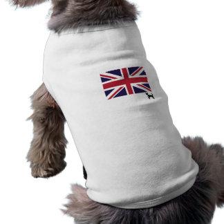 Union Jack Flag Dog Tee