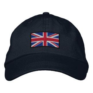 Union Jack Flag Embroidered Hat