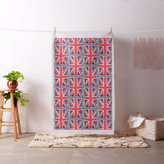 UNION JACK FLAG grunge + your idea Fabric