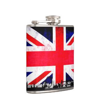Union Jack Flag Hip Flask