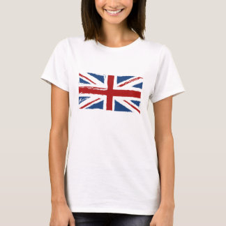Union Jack Flag in Abstract Scribbles T-Shirt