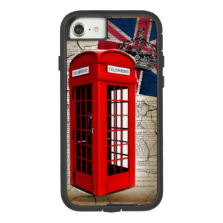 union jack flag jubilee crown red telephone booth Case-Mate tough extreme iPhone 8/7 case