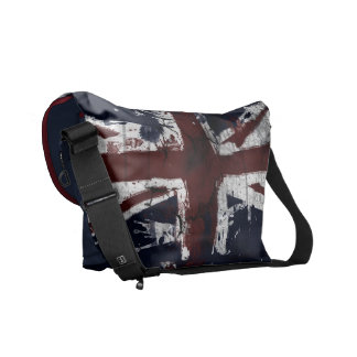 union jack flag messenger bag