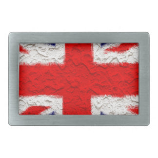 Union jack flag national country belt buckle