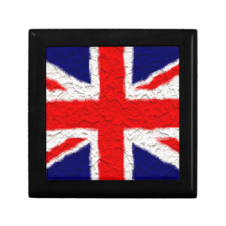 Union jack flag national country gift box