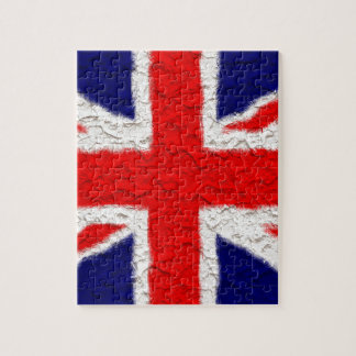 Union jack flag national country jigsaw puzzle