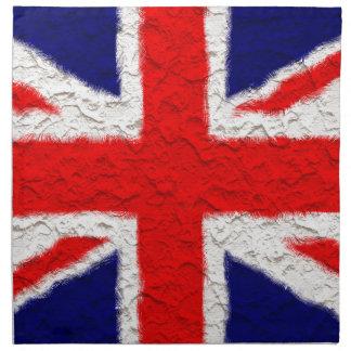 Union jack flag national country napkin