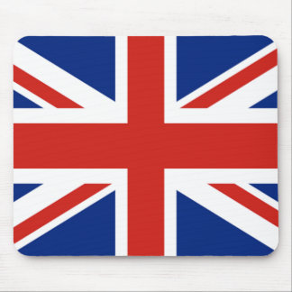 Union Jack - Flag of Great Britain Mouse Pad