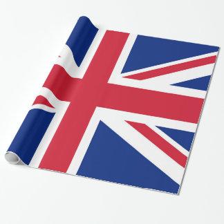 Union Jack flag of the UK - Authentic version