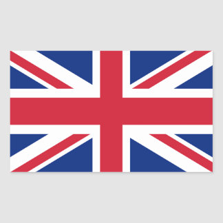 Union Jack flag of the UK - Authentic version Sticker