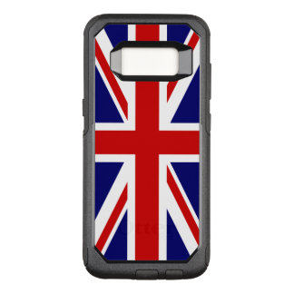 Union Jack Flag of the United Kingdom OtterBox Commuter Samsung Galaxy S8 Case