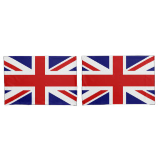 Union Jack Flag of the United Kingdom Pillowcase