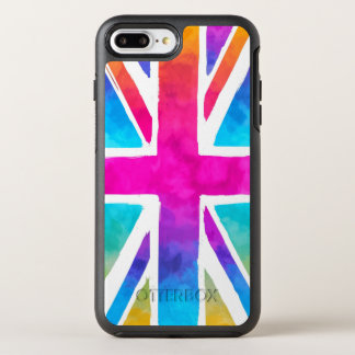 Union Jack Flag OtterBox Symmetry iPhone 8 Plus/7 Plus Case