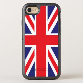 Union Jack Flag Smartphone OtterBox Symmetry iPhone 8/7 Case