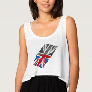 Union Jack  flag Tank Top