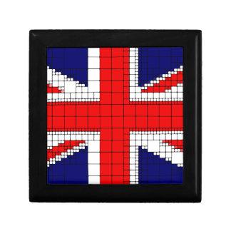 Union jack flag uk patriotic gift box