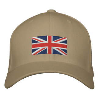Union Jack - Full Color Embroidered Hats