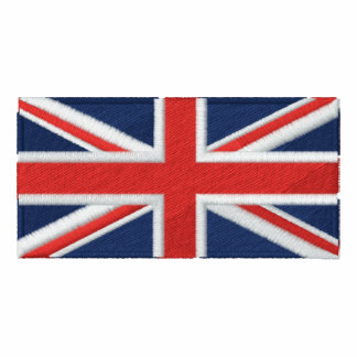Union Jack - Full Color Embroidered Polo Shirt