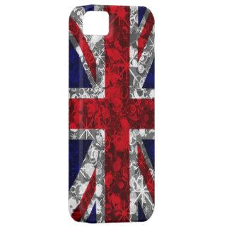 Union Jack glitz iphone 5 barely case