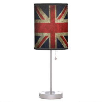 Union Jack Grunge British Flag Love Britain! Table Lamp