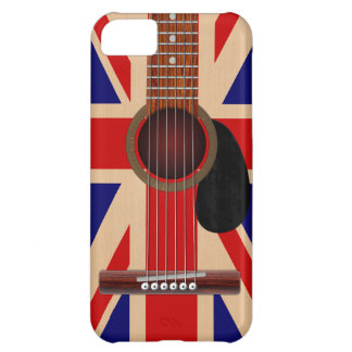 Union Jack Guitar Case For iPhone 5C