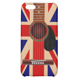 Union Jack Guitar iPhone 5C Covers