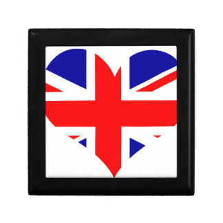 Union Jack Heart Flag Gift Box